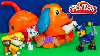PAW PATROL Nickelodeon Paw Patrol Play Doh Puppy Vet a Play Doh Paw Patrol Video Parody