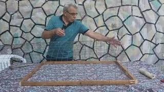 How to make a chicken trap - Κατασκευή παγίδα για κότες