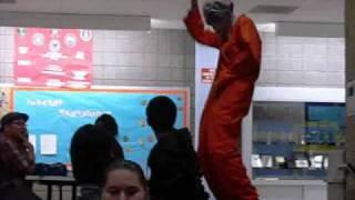 Dancing Illegal Alien Costume at ECC