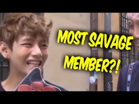 BTS V (Taehyung) Teasing Members - Savage Moments