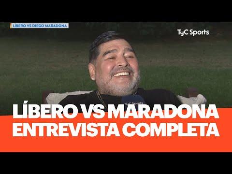 Líbero VS Diego Armando Maradona COMPLETO