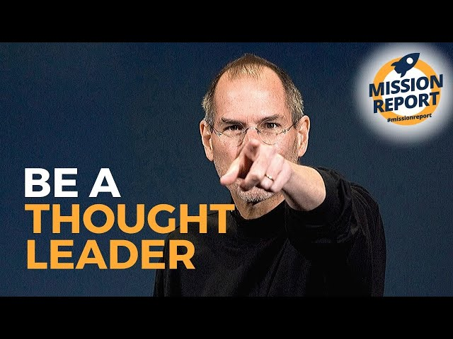 #missionreport - Now is the time to be a thought leader