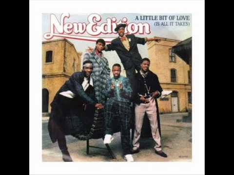 New Edition - A Little Bit Of Love (Is All It Takes) (1986)(HD AUDIO)