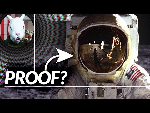 Moon Landing Faked? Proof [Reflected] - down, The Rabbit Hole.