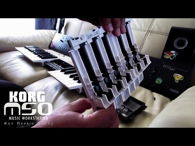 Korg M50 Key Repair DIY