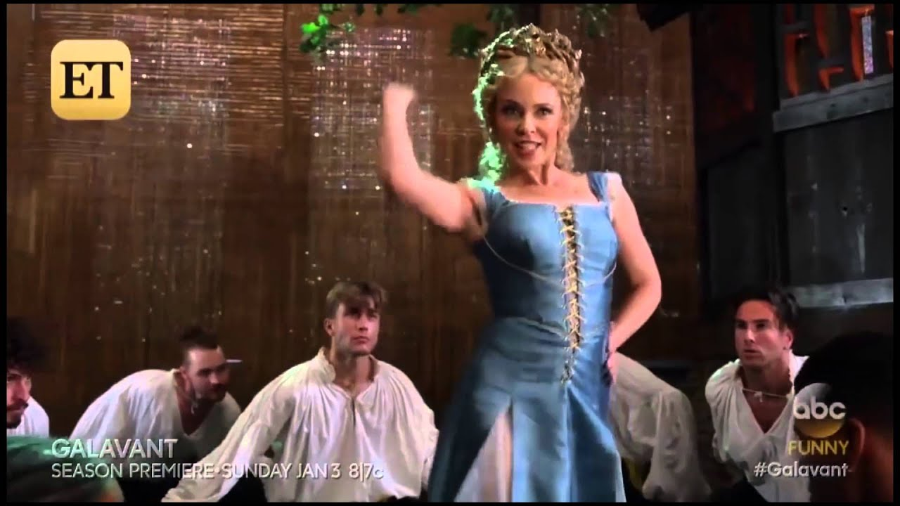 kylie-minogue-off-with-his-shirt-from-galavant-kylie-minogue