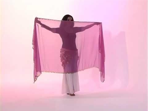 danse orientale avec voile rectangulaire 5 5 chor graphie youtube. Black Bedroom Furniture Sets. Home Design Ideas
