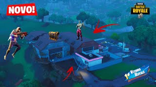 J'AI TROUVÉ THE SECRET BUNKER OF THE DUSTY CRATER! Fortnite: Bataille Royale