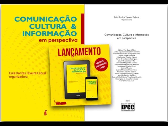 """Obra """"Comunicação, Cultura e Informaçãoem perspectiva"""" é disponibilizada na web"""