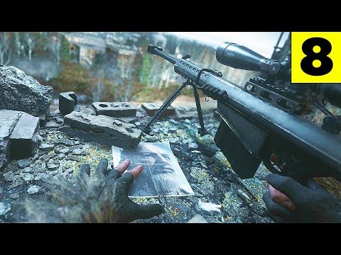 ALL GHILLIED UP & ONE SHOT, ONE KILL - Modern Warfare Remastered - Part 8