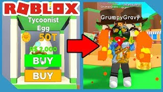 I Opened the NEW Tycoon Egg and Got This! - Roblox Magnet Simulator