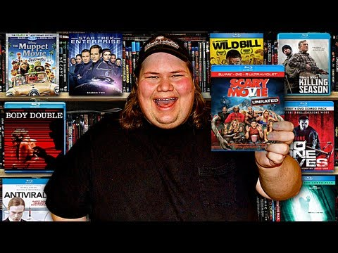 My Blu-ray Collection Update 8/10/13 : Blu ray and Dvd Movie Reviews