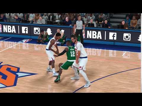 NBA 2K18 Screen Responsiveness Terry Rozier