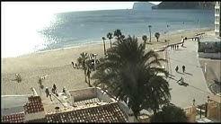 playa arenal de calpe - LIVE on www.ilovecalpe.net