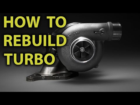 How To Repair / Rebuild Turbocharger (Garrett T3/T4 AiResearch M10) - Step By Step