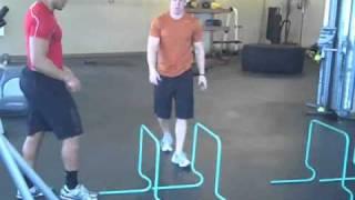 Alex Kube Single Leg Hurdle