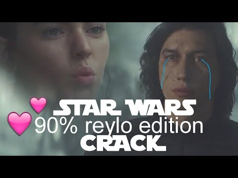 STAR WARS Crack [reylo Is Strong With This One]