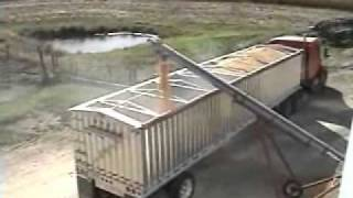 KANN 38 foot Aluminum Dual Hopper Grain Trailer 0001