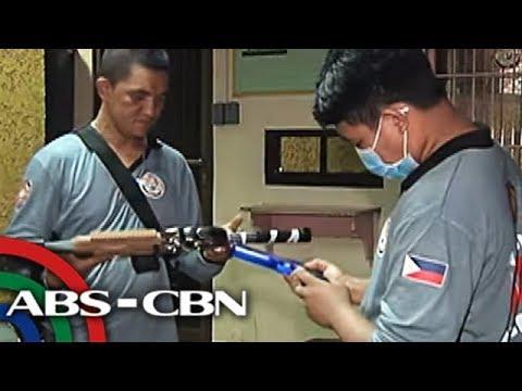 TV Patrol: Laruang pellet guns na sanhi ng totoong away sa Mandaluyong, kinumpiska