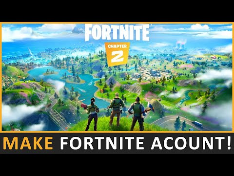How To Create A Fortnite Account | Create Epic Games Account