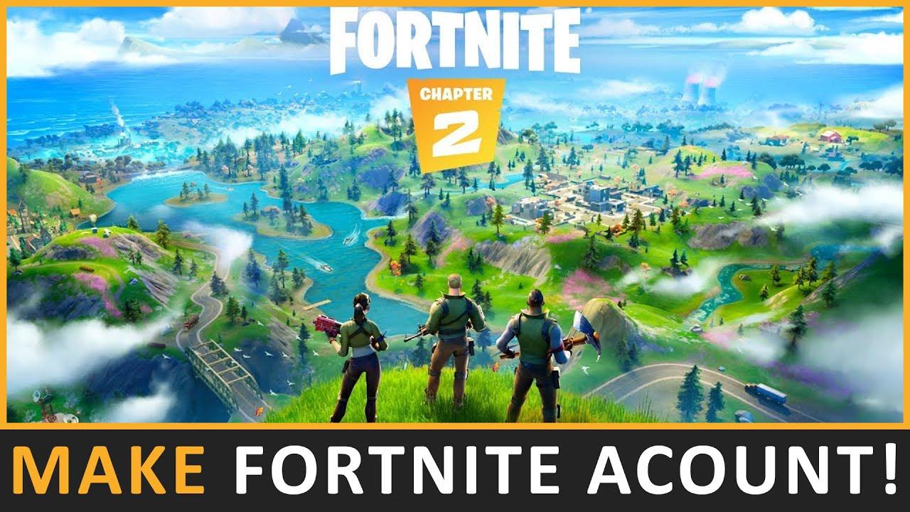 How To Create A Fortnite Account | Create Epic Games ...