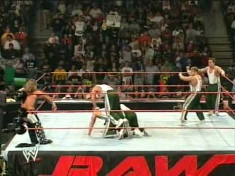 Shawn Michaels vs. The Spirit Squad WWE Raw 5 on 1 Handicap Match 22.05.2006