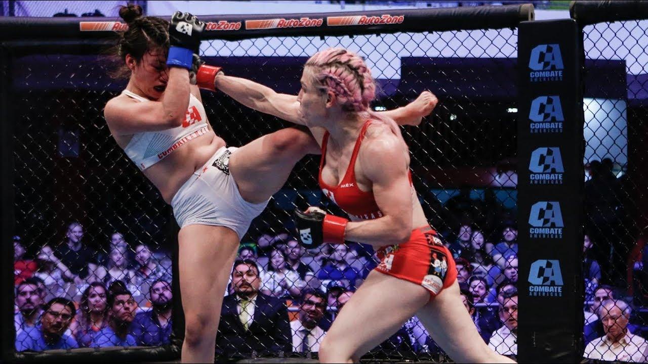Download MMA | Combate Estrellas Monterrey 2019 |  Dulce Garcia vs Mariana Ruiz