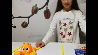 Игрушка каталка крабик - обзор