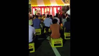 2013/08/03 ますむらひろし&ハーツクラブバンド@野田の七夕まつり.