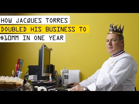 How Chocolatier Jacques Torres Doubled His Business to $10 Million in One Year