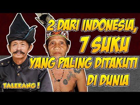 2 Dari Suku Indonesia, Inilah 7  Suku Yang Paling Ditakuti Di dunia