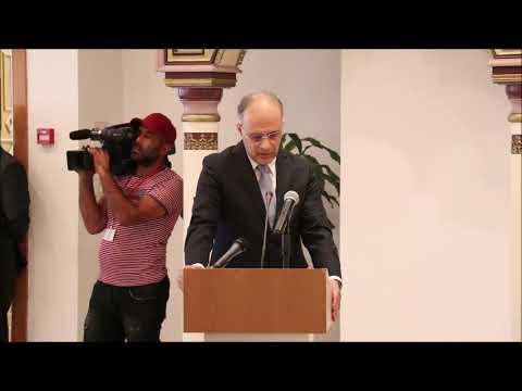كلمة تأبين سفير تونس بالصين للرئيس الراحل الباجي قائد السبسي