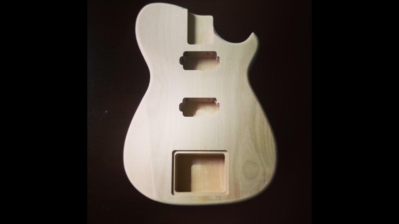 Building Custom Guitars With Templates 1