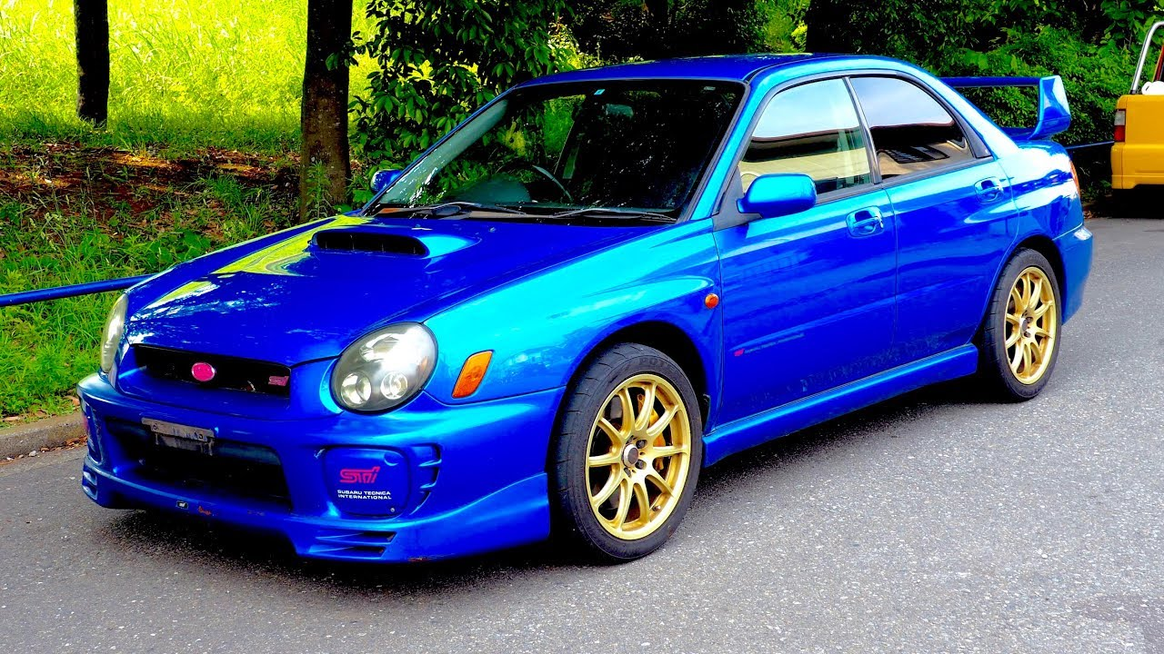 hight resolution of 2002 subaru impreza wrx sti limited canada import japan auction purchase review