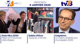 7/8 Le Journal. Edition du mercredi 8 janvier 2020