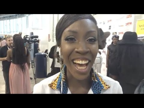 Vlogger Sincerely Oghosa rates designers at Africa Fashion Week