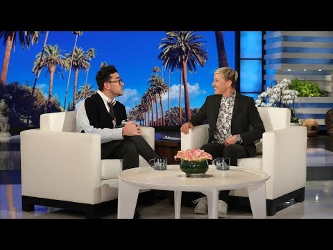 Dan Levy Can Freely Tell His Queer Love Story on TV, Thanks to Ellen