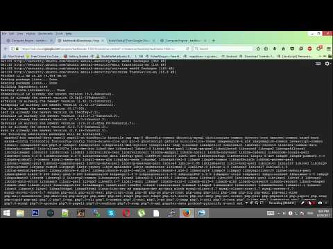 [2/4] Google Cloud Engine and WP | Installing Vesta CP on Google Cloud Engine with PHP 7