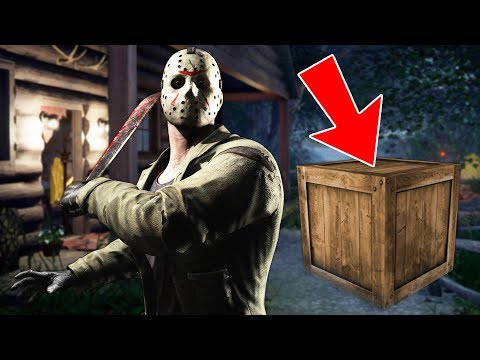FRIDAY THE 13TH GAME!! (BEST HIDING SPOT EVER)