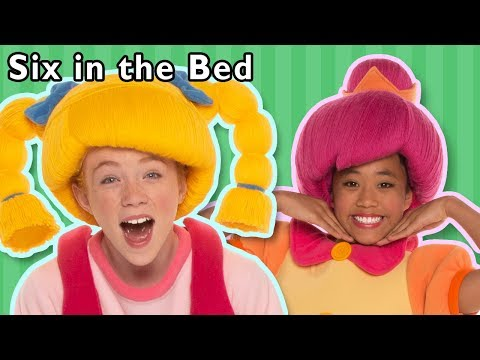 Six in the Bed and More | Bedtime Rhymes | Baby Songs from Mother Goose Club!