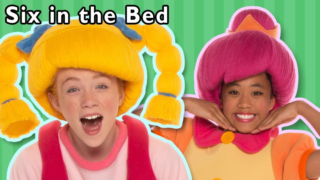 Six In The Bed More Mother Goose Club Nursery Rhymes