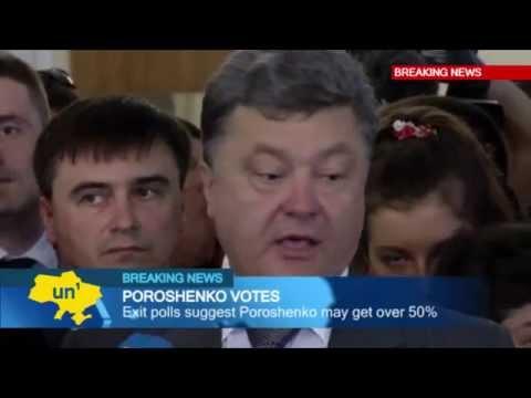 Petro Poroshenko Votes: Presidential favourite casts ballot and promises new beginning for Ukraine