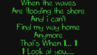 Miley Cyrus - When I Look At You (Lyrics)