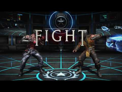 MKX: Biohazard (Cybernetic Kano) vs Raptor (Hellfire Scorpion)