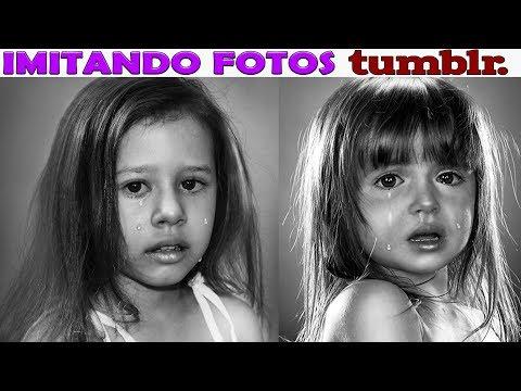 IMITANDO FOTOS TUMBLR - MUITA EMOÇÃO EU CHOREI?  - VALENTINA