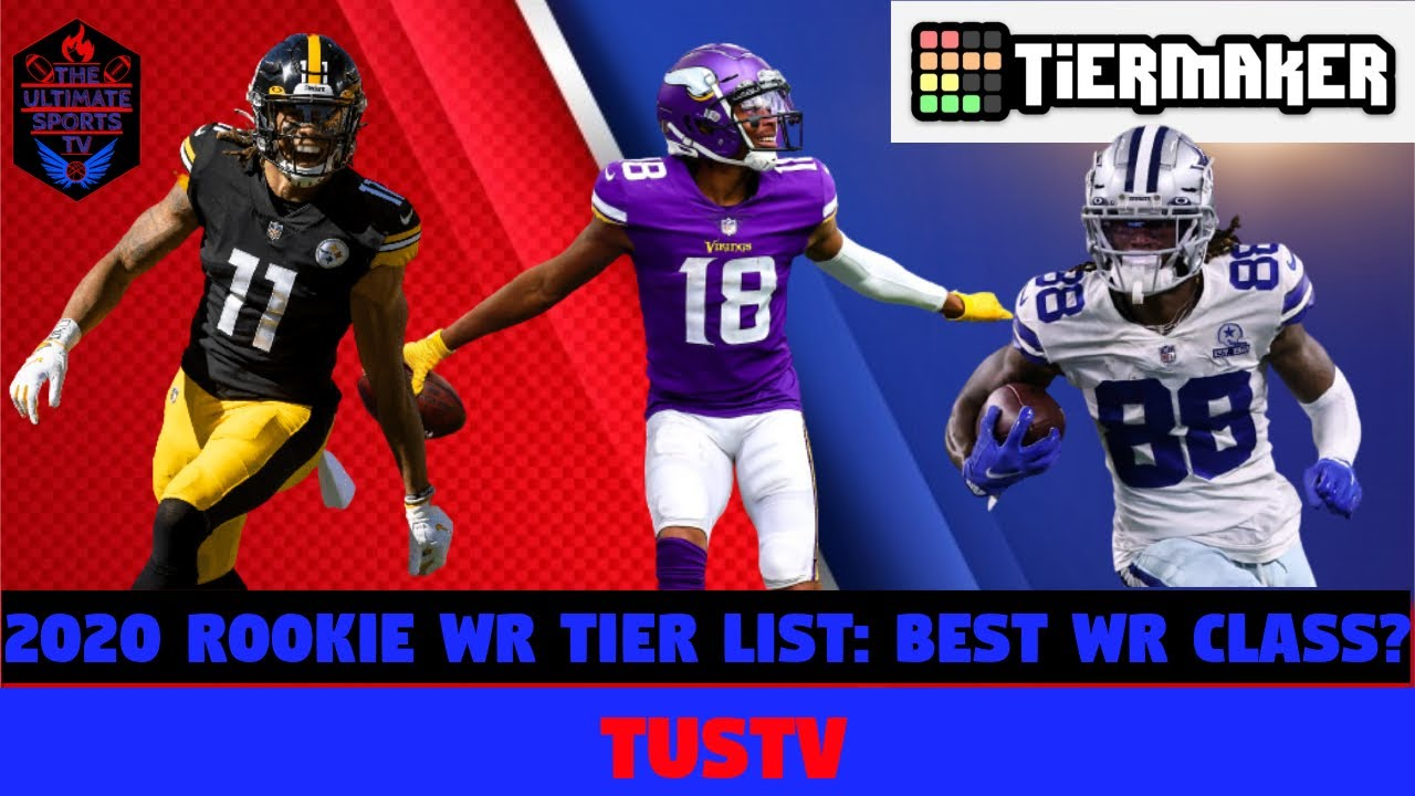 NFL Rookie Wide Receiver Tier List Through 11 Weeks! Who's Been The Best Rookie WR?