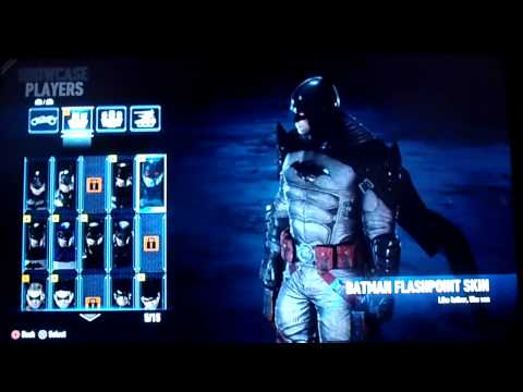 batman arkham knight como cambiar de trajes ( skins ) tutorial de combate