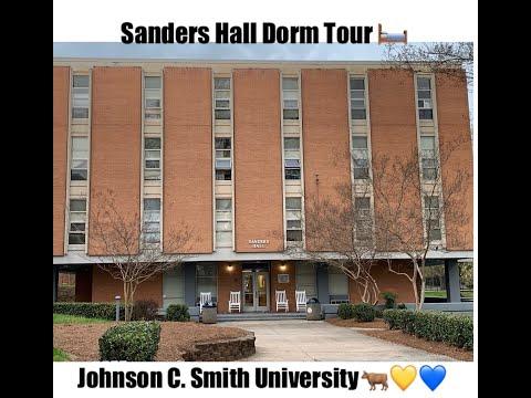 Dorm Tour // Sanders Hall at Johnson C Smith University | K & K