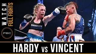 Hardy vs Vincent FULL FIGHT: August 21, 2016 - PBC on NBCSN