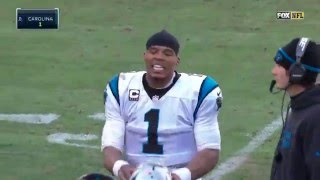 Cam Newton Pissed About Slow Play Calls